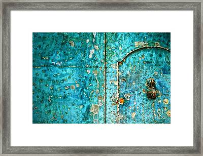 Ti Amo  I Love You Framed Print by Silvia Ganora