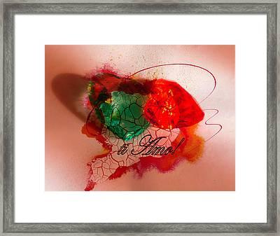 Ti Amo Too Framed Print