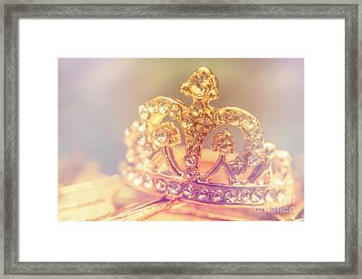 Tiara Crown With Diamonds Framed Print by Jorgo Photography - Wall Art Gallery