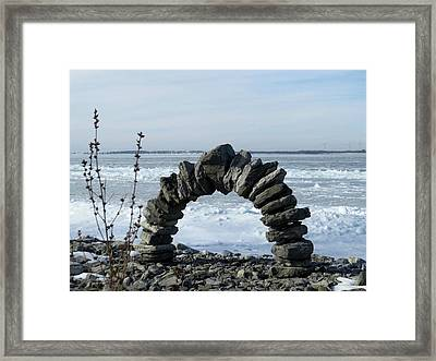 Tibbetts Point Arch Framed Print