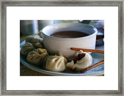 Tibetan Mutton Momo Taste Framed Print