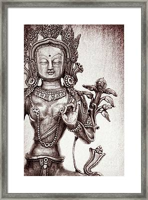 Tibetan Tara Framed Print
