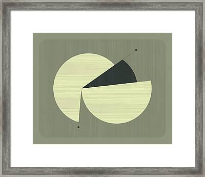 Tick Tock #24 Framed Print by Jazzberry Blue