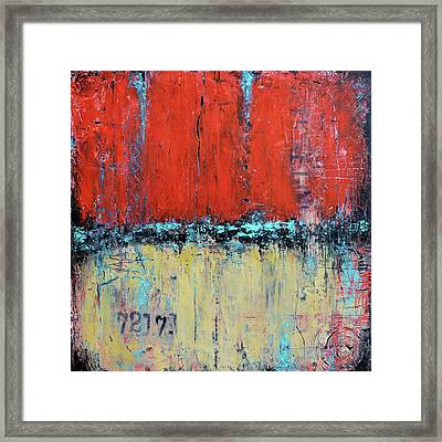 Ticket No. 72173 Framed Print