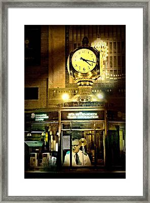 Ticket Taker Framed Print by Diana Angstadt