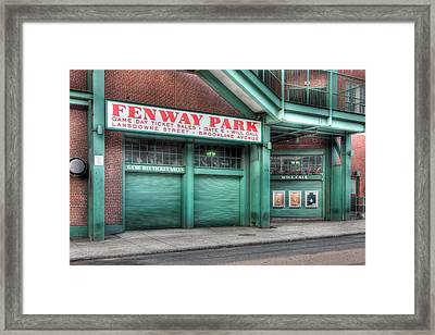 Ticket Windows Framed Print by Clarence Holmes