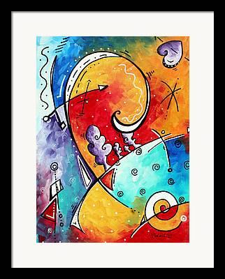 Colorful Decor Framed Prints