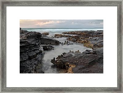 Tidal 2 Framed Print