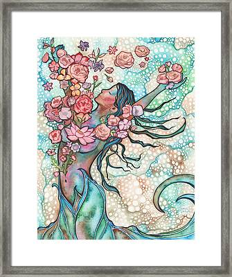Tidal Bloom Framed Print