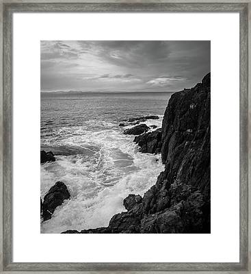 Tidal Dance Framed Print