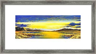 Tidal Lands Framed Print by Bob Patterson
