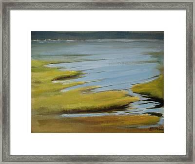 Tidal Pond Framed Print by Jenny Stanley