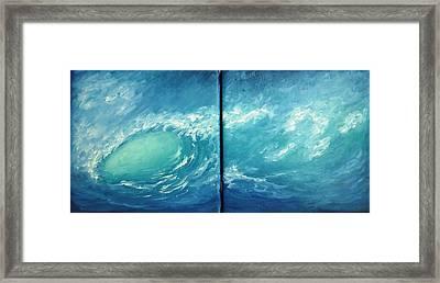Tidal Wave Framed Print