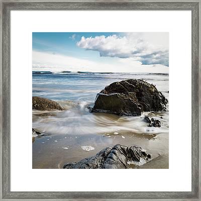 Tide Coming In #2 Framed Print