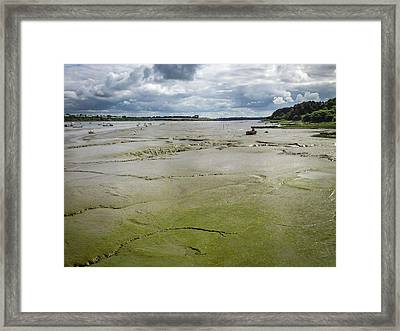 Tide Is Out  Framed Print