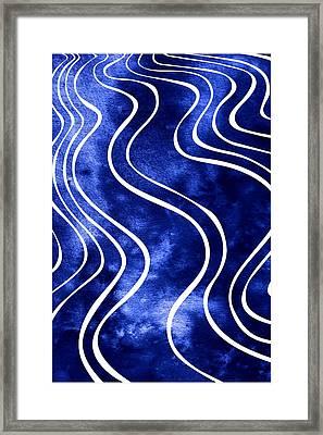 Tide Iv Framed Print