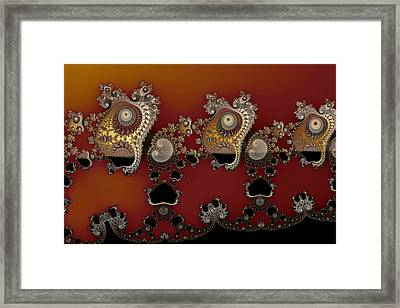 Tide Mark Framed Print by Mark Eggleston