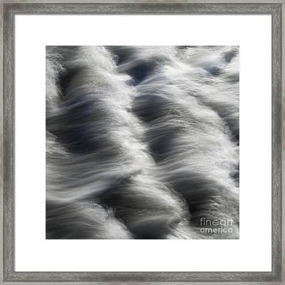 Tide Over Rocks Framed Print by Tony Higginson