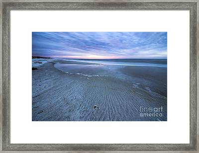 Tide Pool At Cape San Blas Framed Print by Twenty Two North Photography