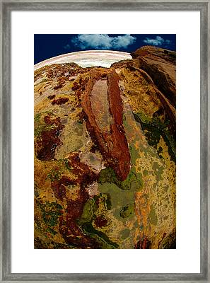 Tide Pool Framed Print by Harry Spitz