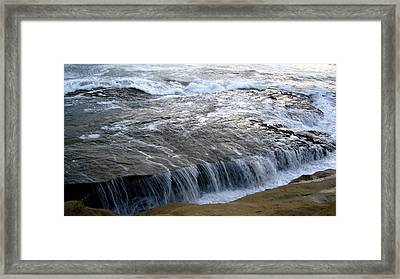 Tide Pools Framed Print