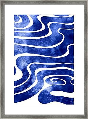 Tide V Framed Print