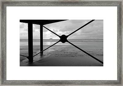 Tide's Out Framed Print