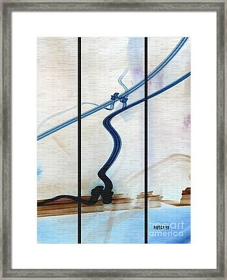 Tied The Knot Framed Print