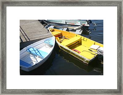 Tied Up. Framed Print by Dennis Curry