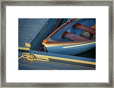 Framed Print featuring the photograph Tied Up by Rick Berk