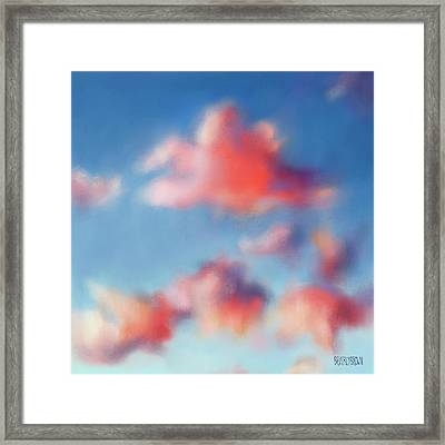 Tiepolo Clouds Framed Print by Beverly Brown