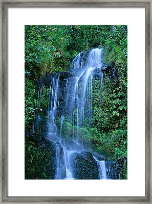 Tiered Waterfall Framed Print by Bill Brennan - Printscapes