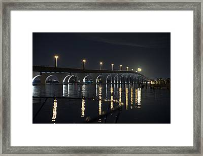 Tierra Verde Bridge Framed Print
