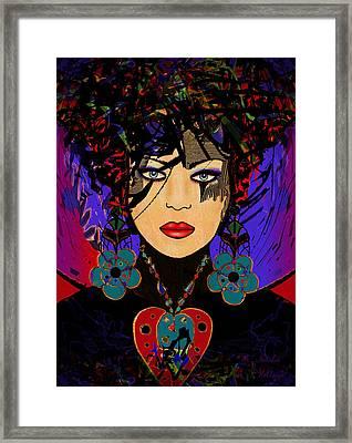Tiffany Framed Print by Natalie Holland