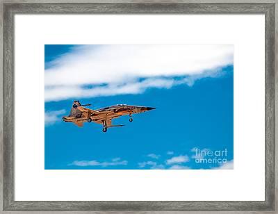 Tiger II Landing Framed Print by Robert Bales