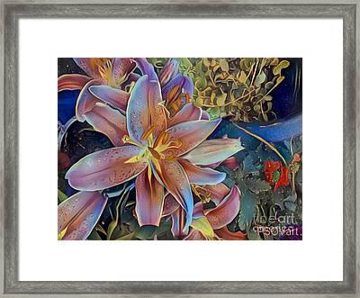 Tiger Lily 1 Framed Print