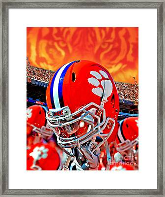 Tiger Pride Iphone Galaxy Cover Framed Print