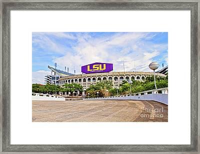 Tiger Stadium - Hdr Framed Print