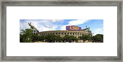 Tiger Stadium Panorama Framed Print