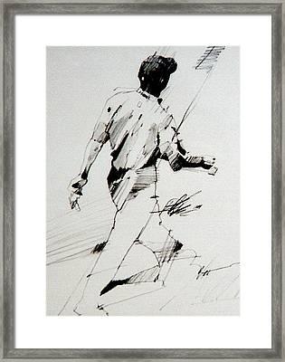 Tiger  Framed Print by David Kilmer