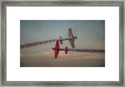 Tiger Yak 55 Framed Print