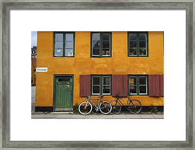 Tigergade Apartment Scene Framed Print