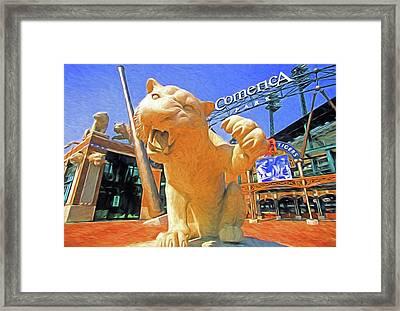 Tigers Park  Framed Print