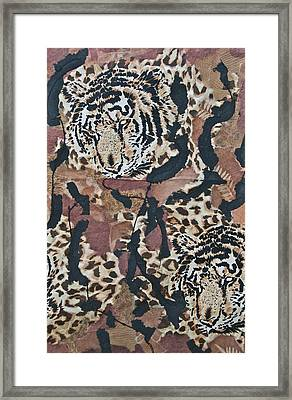 Tigers Tigers Burning Bright Framed Print