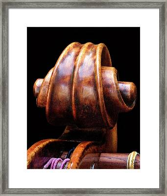Tight Closeup  Framed Print