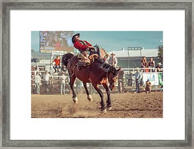 Tight Grip Framed Print by Todd Klassy