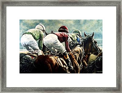 Tight Quarters Framed Print