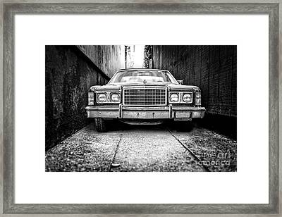 Tight Squeeze  Framed Print by Edward Fielding