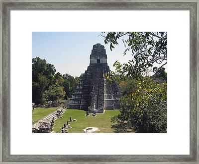 Tikal I Framed Print by Kurt Van Wagner
