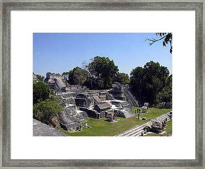 Tikal II Framed Print by Kurt Van Wagner